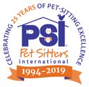 Psi 25 Year Logo | Gainesville Pet Sitting
